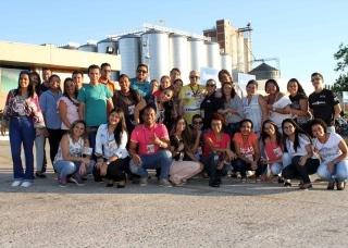 Alunos do curso de Administração visitam à fábrica da BRASIL KIRIN